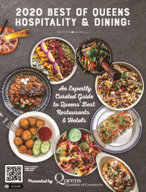 Picture of cover of 2020 Best of Queens Hospitality and Dining Guide